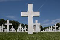 Am Militärfriedhof in Hamm wird am Montag eine Gedenkfeier stattfinden.