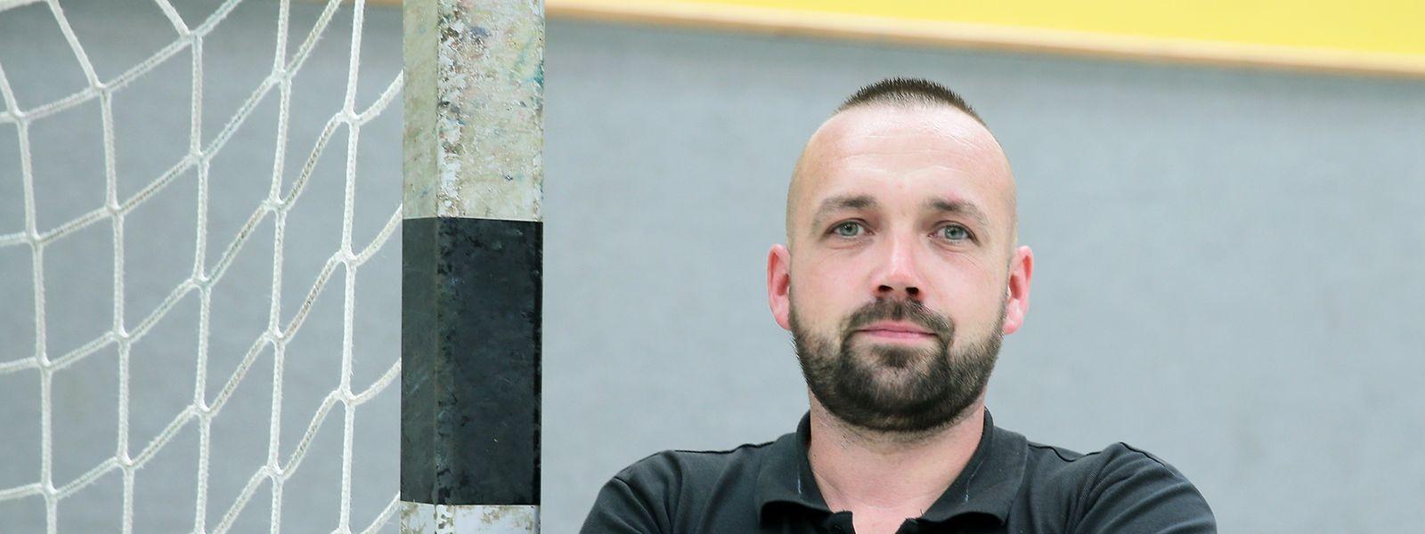 Jérôme Ewen ist in Bettemburg Trainer und Präsident in Personaunion.