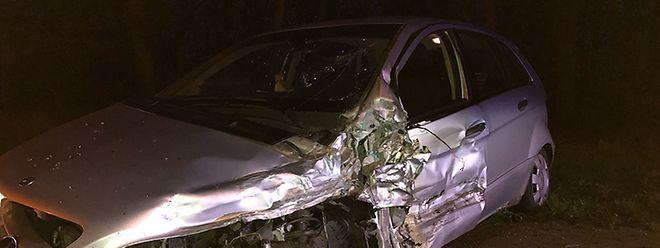 Frontalkollision in Bettemburg am frühen Sonntagabend. Zwei Personen wurden verletzt.