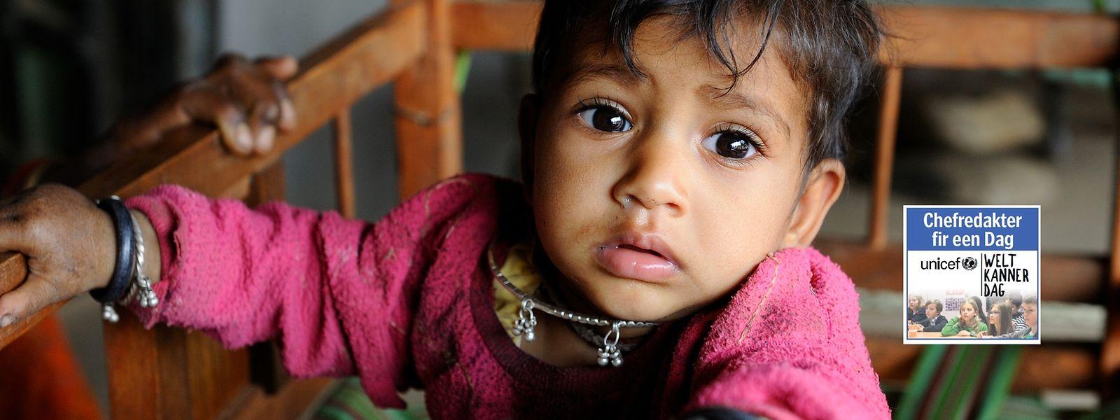 Mädchen haben oft ein schweres Leben in Indien.