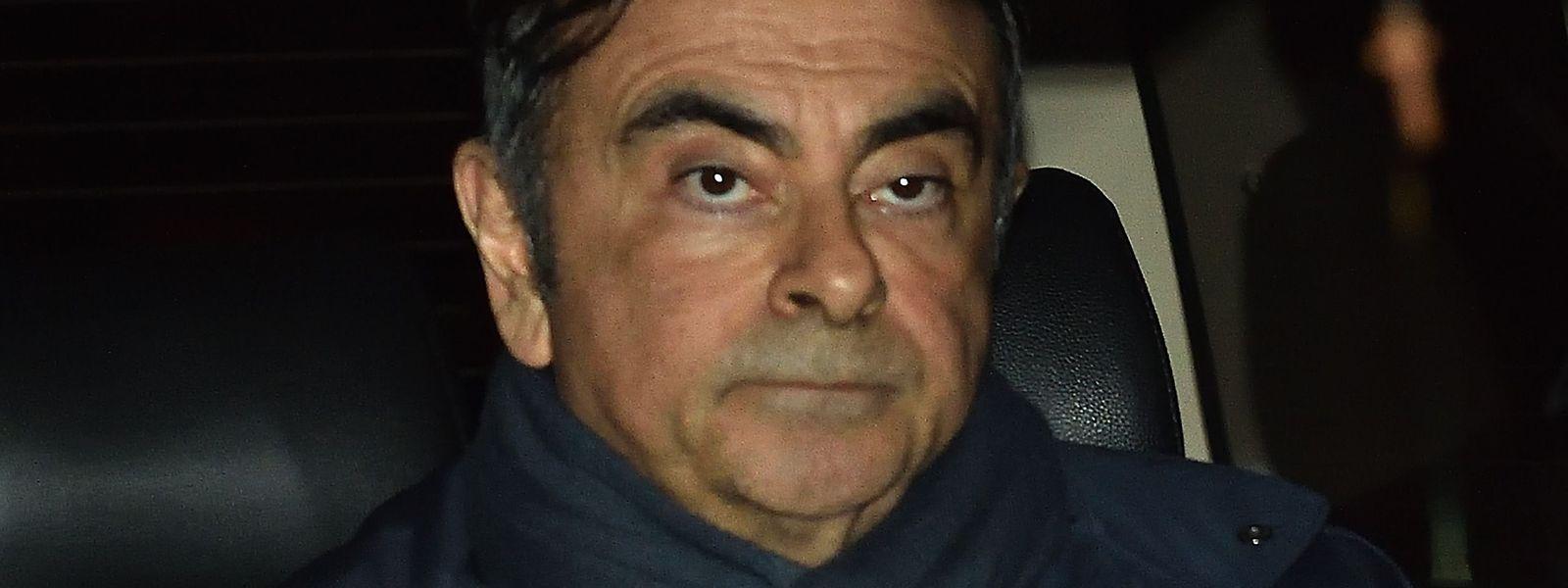 Carlos Ghosn, le patron déchu de Renault-Nissan.