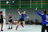 FLH Handball Spielzeit 2020-2021 Frauen Mannschaft des HB Bettemburg am 14.08.2020 Training Laura MELCHIOR (14)