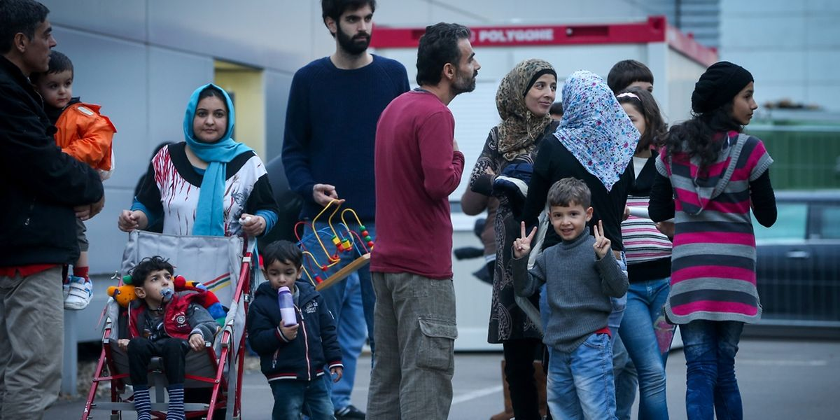 Os refugiados passaram pela Grécia