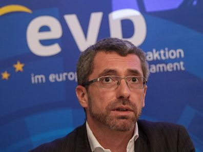 18.2. IPO / Uni Berlval / Konf luxemburgische Europaabgeordnete / EVP / Europaparlament / Frank Engel  Foto:Guy Jallay