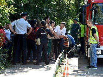 14 des 16 travailleurs tués dans l'incendie étaient des citoyens kirghizes.