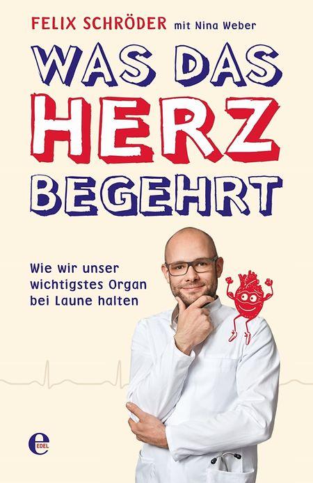Felix Schröder, Nina Weber:Was das Herz begehrt: Wie wir unser wichtigstes Organ bei Laune halten. Edel Germany. 240 S. Euro 16,95, ISBN 9783841905451.