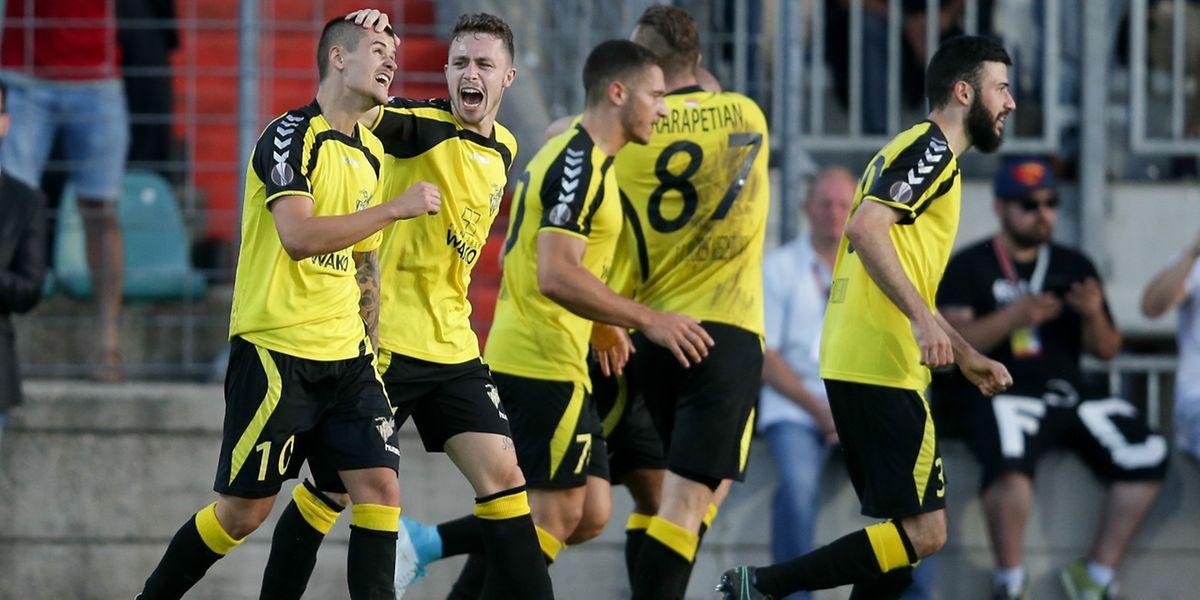 Les joueurs du Progrès ont sans doute réalisé le plus bel exploit luxembourgeois en Coupe d'Europe.