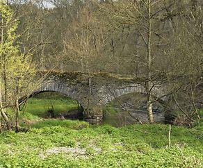 d'Zugangsbréck fir bei Fréiresmillen