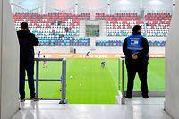 Stadion / Fussball, Stade de Luxembourg, Soiree Test / 14.07.2021 / Stade de Luxembourg, Luxemburg / Foto: Christian Kemp