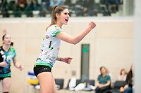 Nathalie Braas (Walferdingen 6) / Volleyball, Coupe de Luxembourg, Halbfinale Frauen, Bartringen - Walferdingen / Bissen / 21.03.2019 / Foto: Christian Kemp