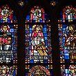 Lok , Kirchenfenster der Kathedrale , Erklärungen alex Langini , Foto: Guy Jallay/Luxemburger Wort