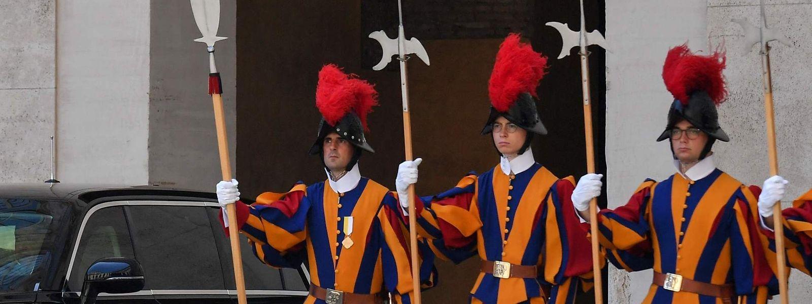 Wegen der von Papst Franziskus gewünschten Erhöhung des Bestands von 110 auf 135 Soldaten braucht es neue Räume für die Schweizergarde.