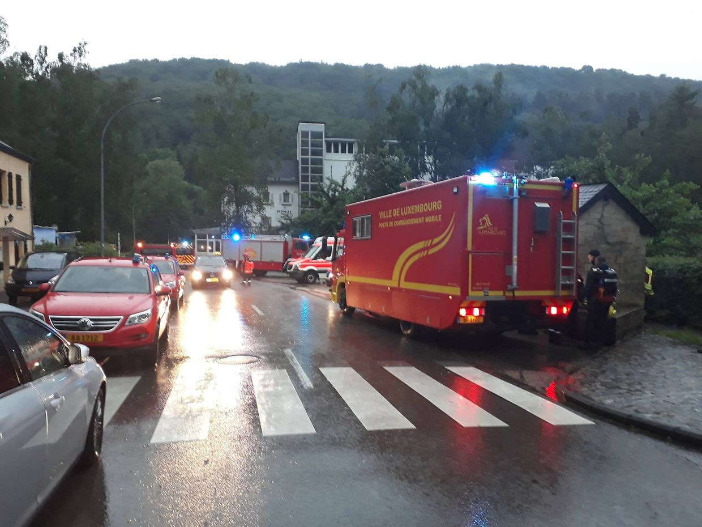 In Müllerthal mussten 18 Personen von einem Campingplatz evakuiert werden.