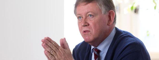 Alex Bodry äußerte sich wenig überrascht über den CSV-Vorstoß zur Verfassungsreform.