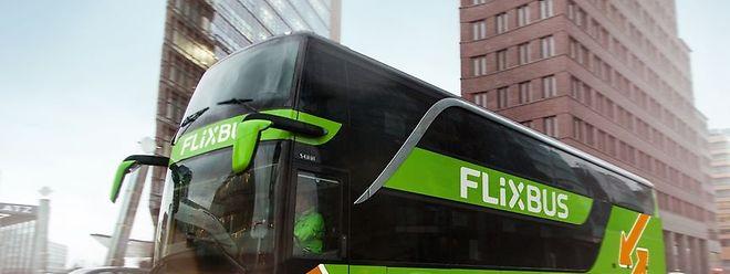 Aus Luxemburg fährt Flixbus 34 Städte an.
