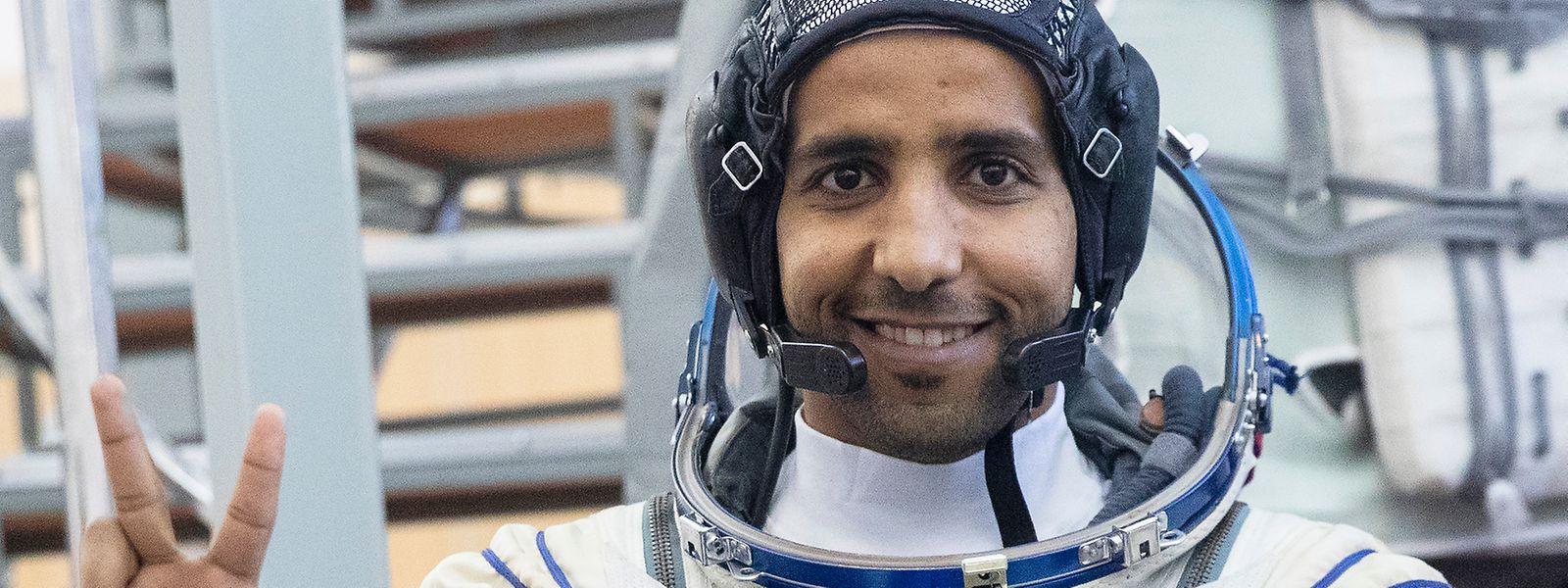 Hassa al-Mansuri, Astronaut der Vereinigten Arabischen Emirate.