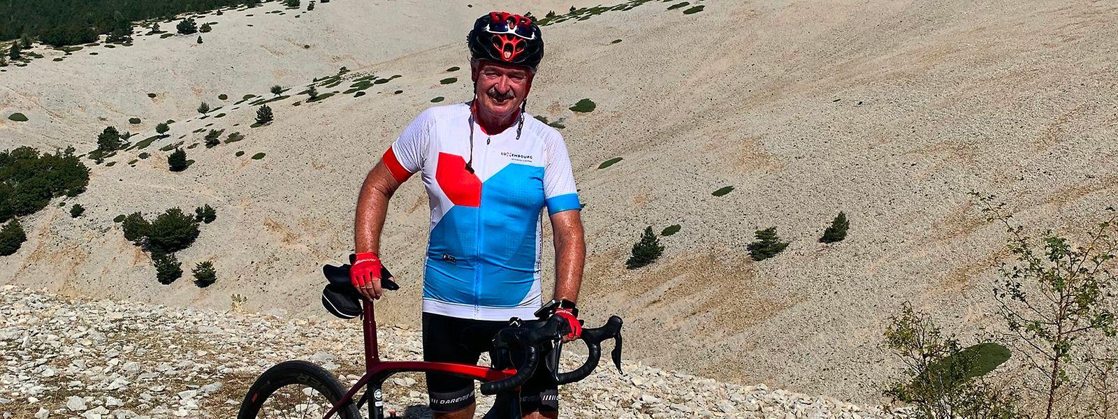 Wie in jedem Jahr bezwang Außenminister Jean Asselborn auch in diesem Sommer den legendären Mont Ventoux.