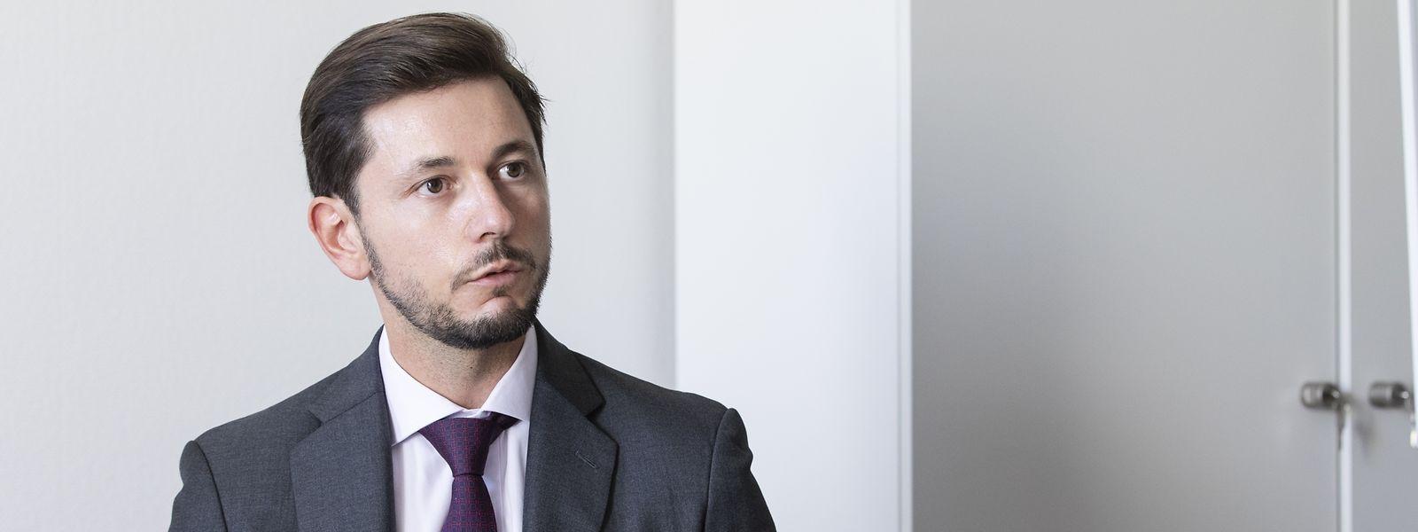 Âgé de 38 ans, Gabriel Seixas a été désigné procureur européen pour un mandat de six ans.