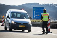 Corona-Virus - Grenzkontrollen - Luxemburg - Deutschland - Schengen - Viadukt von Schengen - Foto: Pierre Matgé/Luxemburger Wort