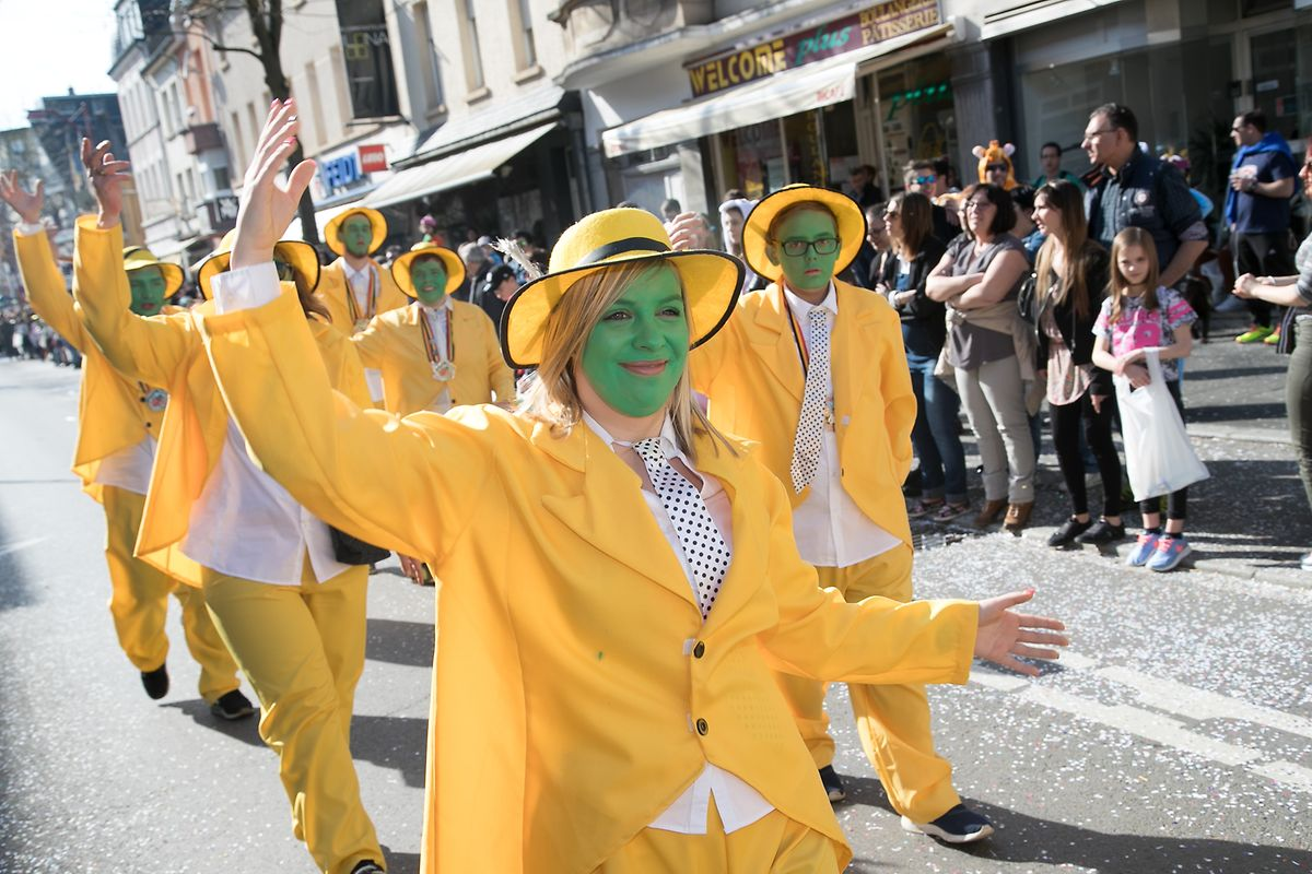 Carnival should end on Ash Wednesday, but in Luxembourg the celebrations normally go on for longer Photo: Laurent Blum