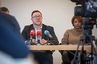 Lokales, Pressekonferenz die Gemeinden über die schliessung der BCEE Agenturen, Foto: Lex Kleren/Luxemburger Wort