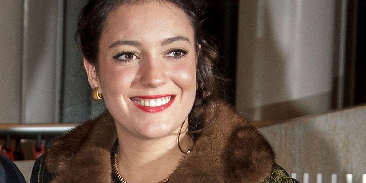 Eine strahlende Alexandra, doch viele Fotos von der hübschen Prinzessin gibt es nicht.