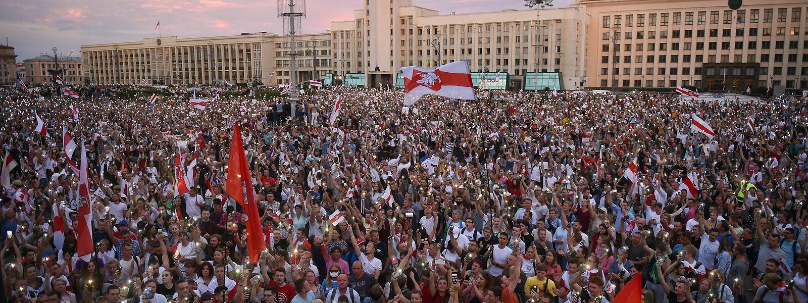 Depuis 11 jours, les manifestations anti-Loukachenko ne cessent de se multiplier à Minsk, la capitale de la Biélorussie