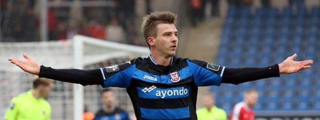 Maurice Deville ist bis Saisonende an den FSV Frankfurt ausgeliehen.
