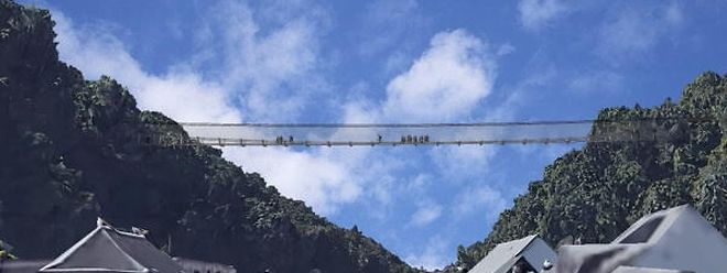 Das Bauwerk soll 200 m lang und 4,5 m breit werden.