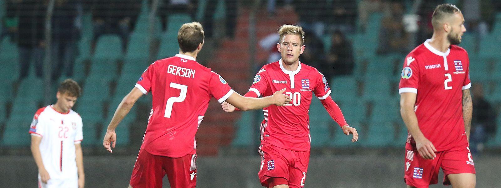Dave Turpel réduit le score après l'heure de jeu, mais le Luxembourg n'est pas parvenu à égaliser.