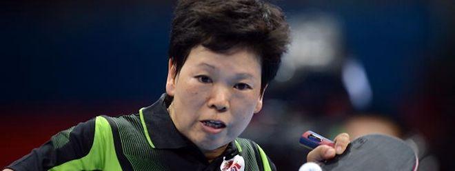 Ni Xia Lian n'a pas vu venir la jeune Hsing. Elle quitte prématurément ses trois jeux Olympiques.
