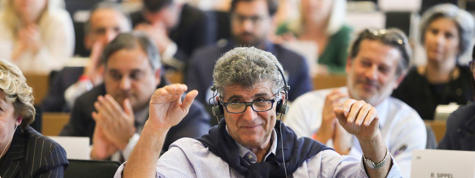 Pietro Bartolo in Brüssel.