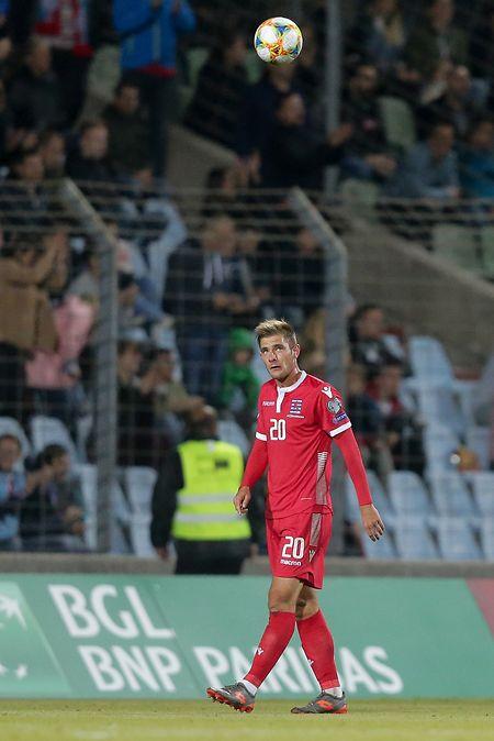 Buteur contre la Serbie, David Turpel devrait conduire l'attaque luxembourgeoise à Lisbonne.