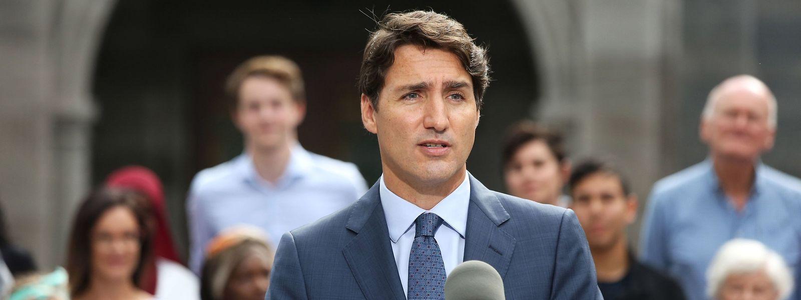 Justin Trudeau: Der Lack des Sonnyboy ist ab.