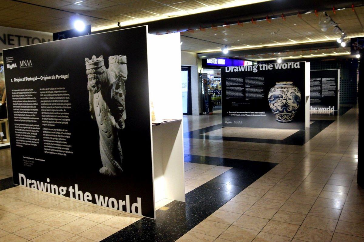 """A mostra no centro comercial Belle Étoile é um """"aperitivo"""" da exposição sobre Portugal que o Museu Nacional de História e Arte do Luxemburgo prepara para 2017, com peças do Museu de Arte Antiga, em Lisboa"""