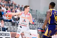 Sam Ney (Racing 12) / Basketball, Total League Maenner, Zweites Viertelfinale, Racing - Amicale / Luxemburg / 27.03.2019 / Foto: Christian Kemp