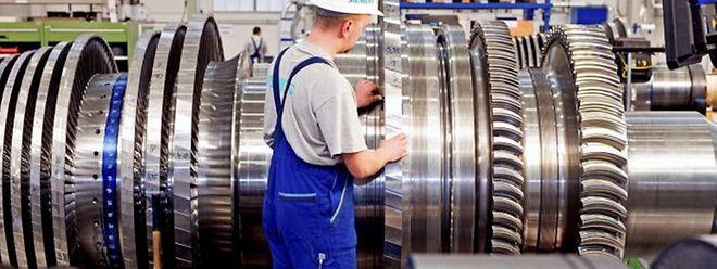 In 39 Betrieben wird im Januar nach Kurzarbeit gearbeitet.