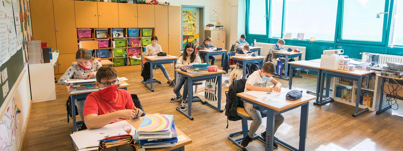 Environ un tiers des écoliers ont demandé à être pris en charge durant les après-midis.