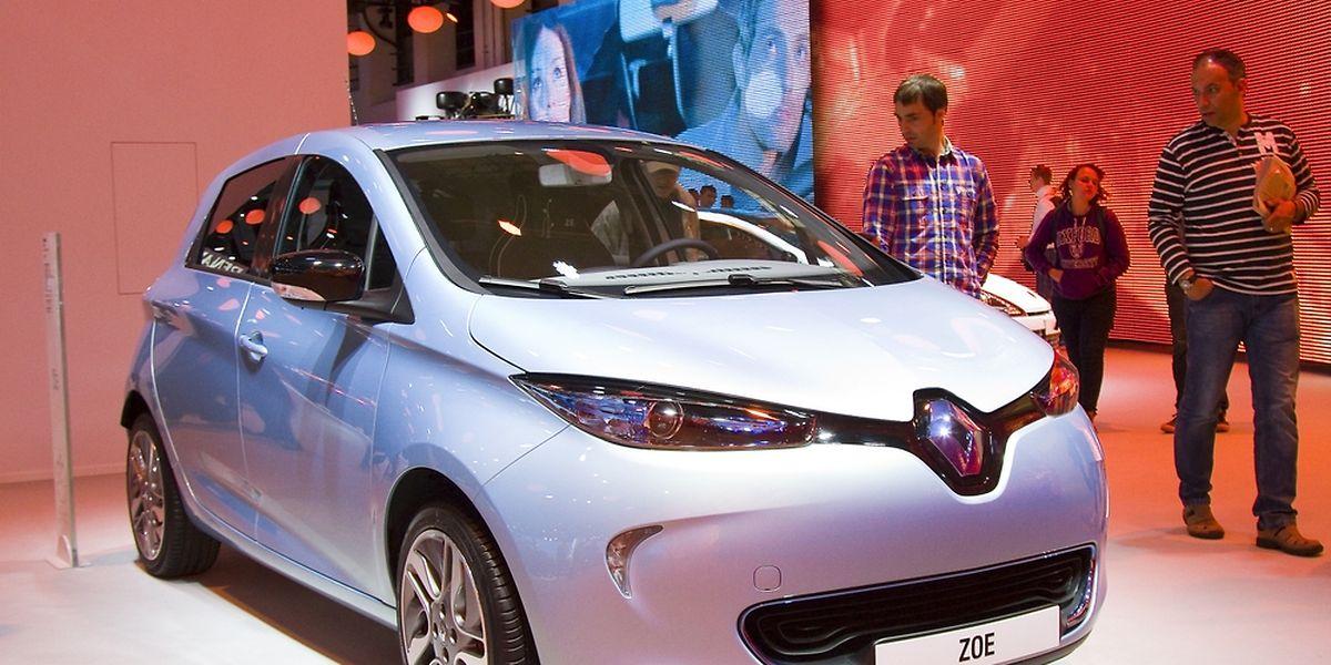Quasiment une voiture électrique sur quatre qui circulent actuellement sur les routes luxembourgeoises est une Renault ZOE.