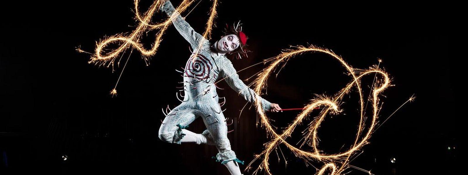 Un aperçu de Quidam le nouveau spectacle du Cirque du Soleil