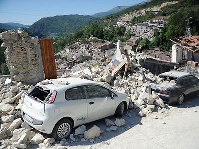 Einzelne Dörfer in den Apenninen wurden fast vollständig dem Erdboden gleichgemacht.