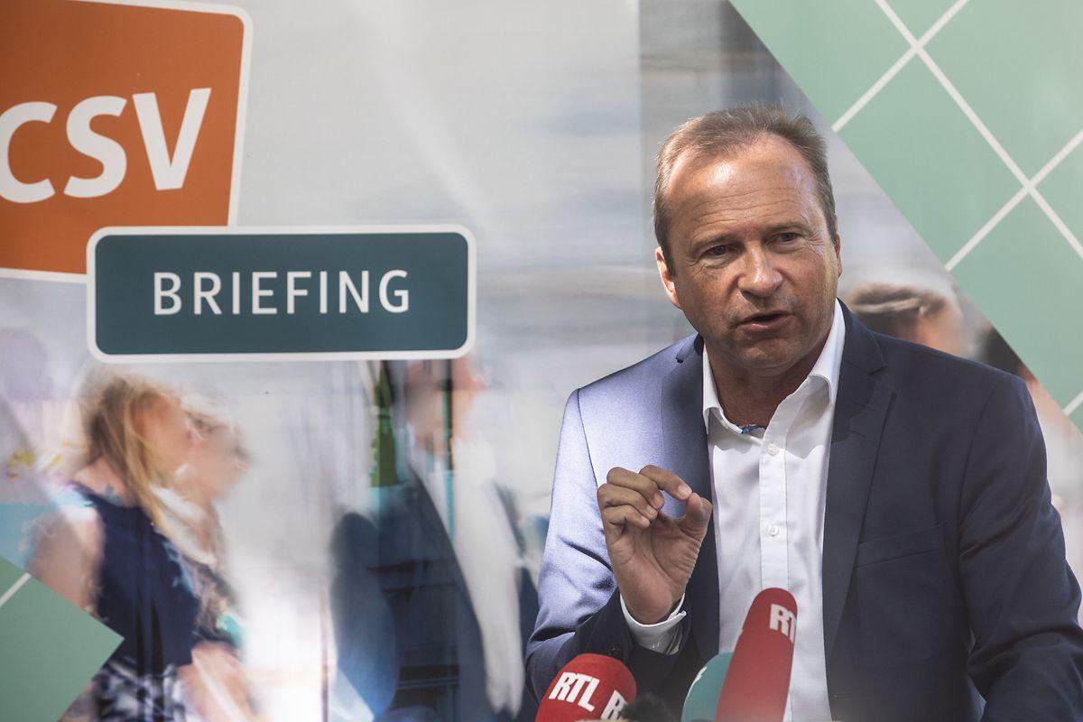 CSV-Co-Fraktionschef übte harsche Kritik an den Mehrheitsparteien.