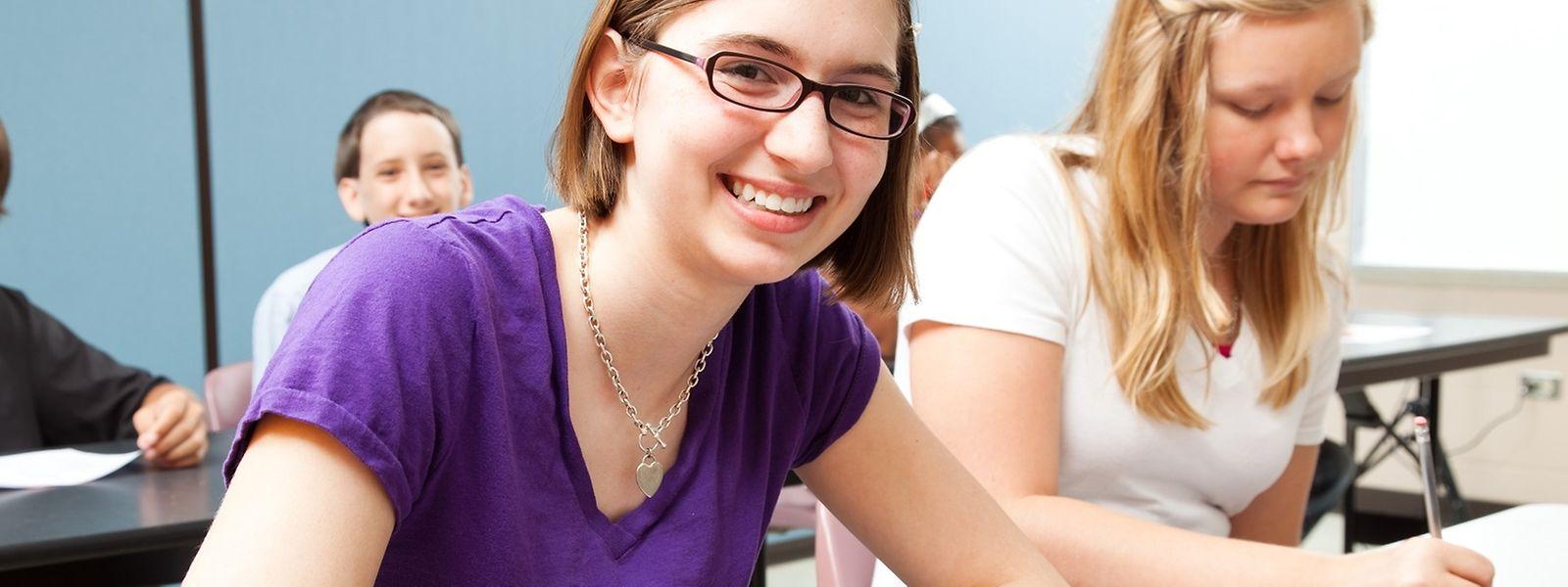 Fast hundert Prozent der europöischen Schüler ab elf Jahre lernen mindestens eine Fremdsprache.