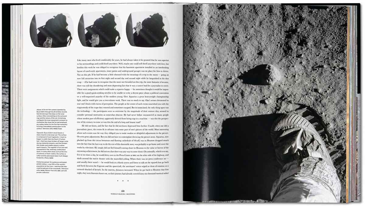 Zum 50. Jahrestag der Mondlandung erscheint Norman Mailers Geschichte als reich bebilderte, bibliophile Ausgabe.