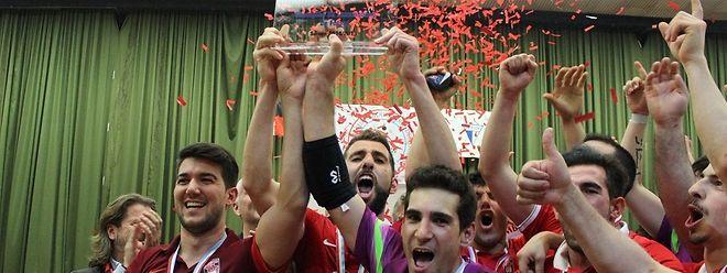 O FC Differdange arrecadou o primeiro título do Grão-Ducado em futsal