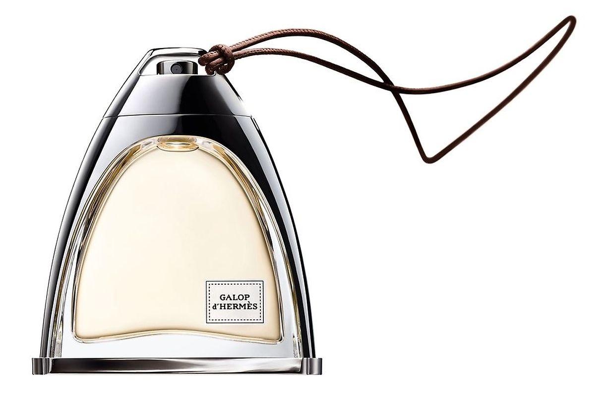 """Im neuen Hermès-Duft """"Galop"""" werden die vordergründigen Noten von Leder und Rose durch einen Hauch von Quitte und Safran ergänzt."""