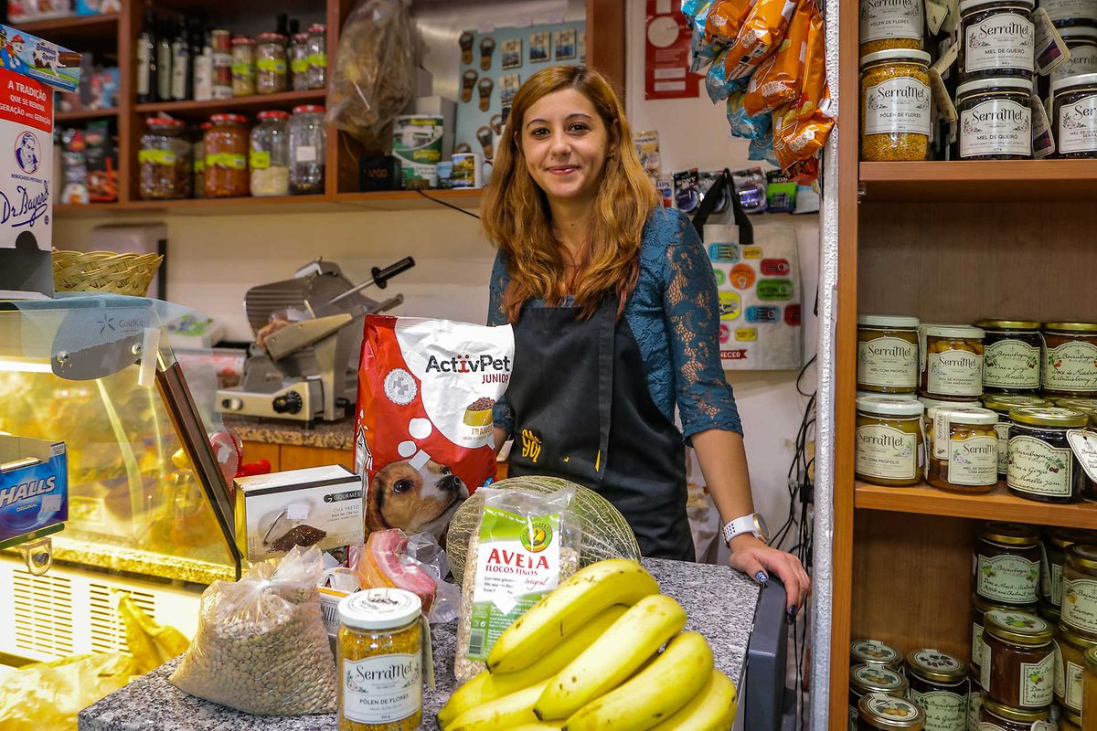 Érica Bargao, na mercearia gourmet