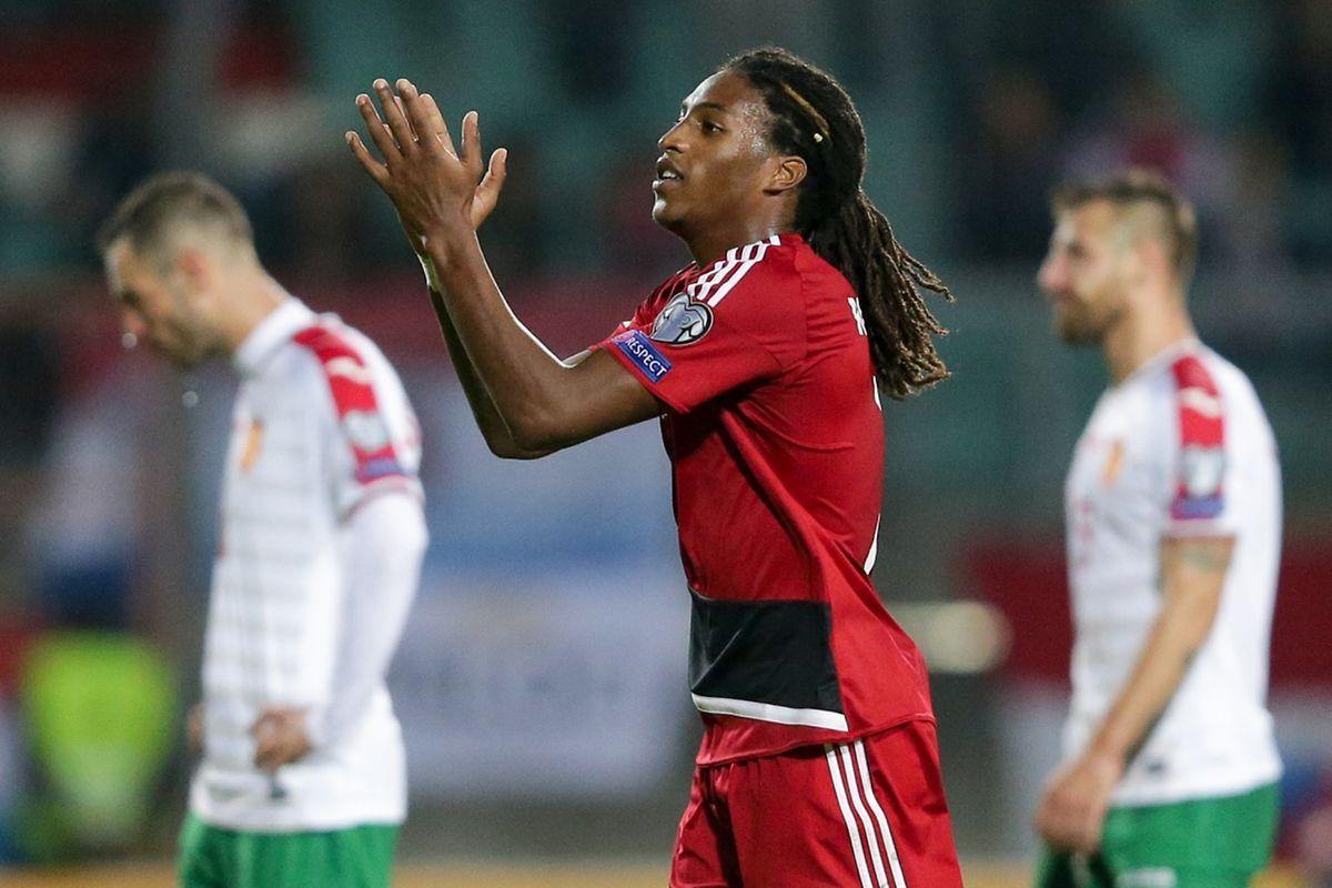 Gerson Rodrigues sous le maillot des Roud Léiwen : « On se doit de faire une bonne prestation contre la Hongrie et de mettre le public de notre côté. »