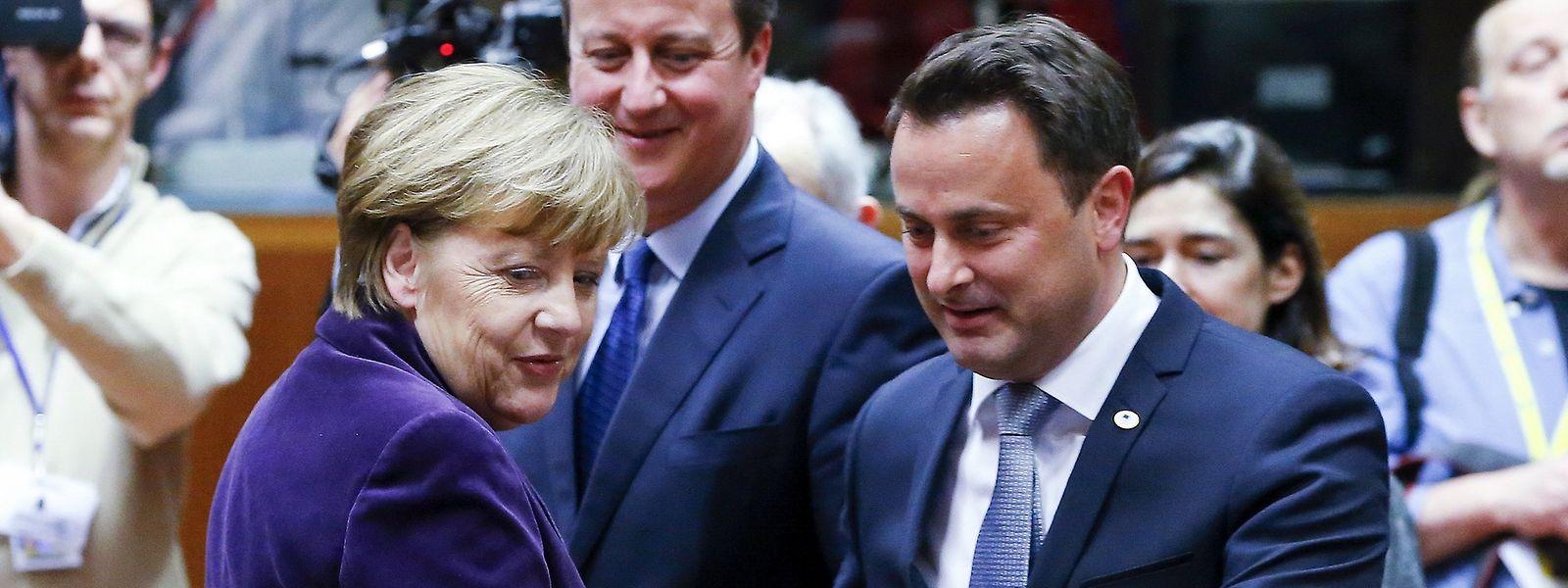 Für Luxemburg nahm Premierminister Xavier Bettel an den Gesprächen teil.