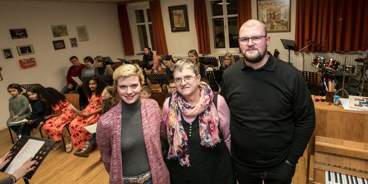 Bei Claudine, Angèle und Pol Michels wird Engagement großgeschrieben.